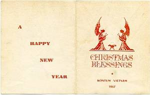 christmas blessings kontum vietnam - Christmas Dinner Blessings