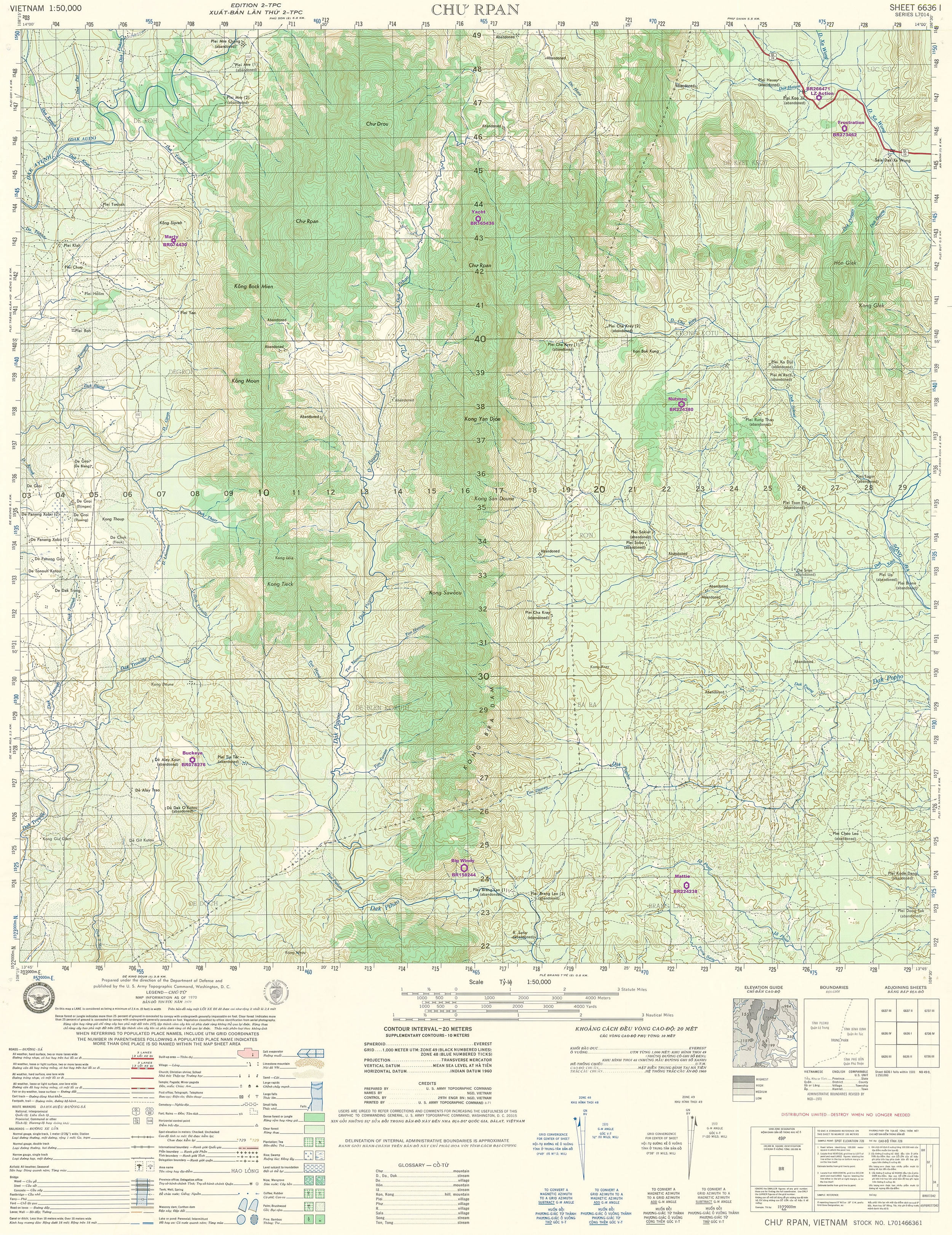 US BASES: LZ BUCKEYE MAP_6636-1